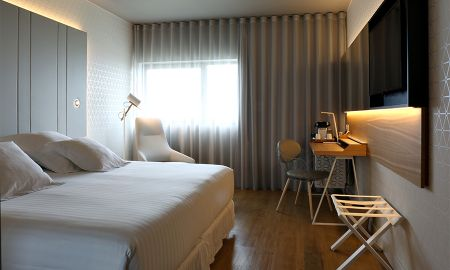 Chambre Deluxe - Vue Mer - Occidental Atenea Mar - Adults Only - Barcelone