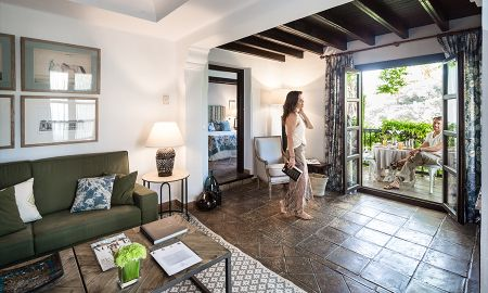 Suite Junior balcone - La Bobadilla, A Royal Hideaway Hotel - Granada