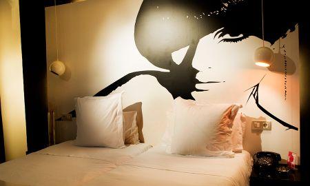Habitación Doble - Hotel Abalu Madrid Centro - Madrid