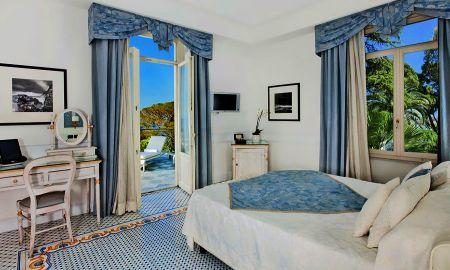 Deluxe 1906 vista al mar con jacuzi exterior - Hotel Excelsior Parco - Capri