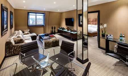 One Bedroom Suite with View of the Square - Offered £15.00 Daily Coupon - Radisson Blu Edwardian Hampshire Hotel - London