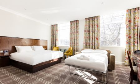 Family Room (2 adults+ 2 children) - Offered £15.00 Daily Coupon - Radisson Blu Edwardian Grafton Hotel - London