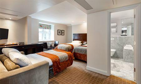 Chambre Triple - Radisson Blu Edwardian Grafton Hotel - Londres