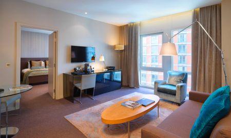 Suite Una Camera (2 Adulti + 2 Bambini) - £15.00 Giornaliero Coupon Offerto - Radisson Blu Edwardian New Providence Wharf Hotel - Londra
