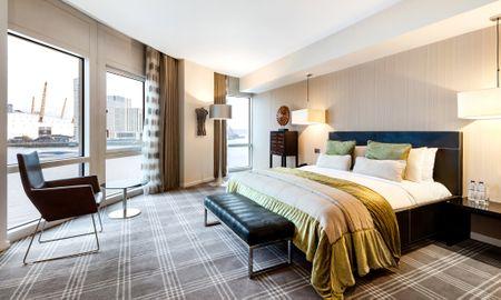 Camera Deluxe con Vista Fiume - £15.00 Giornaliero Coupon Offerto - Radisson Blu Edwardian New Providence Wharf Hotel - Londra