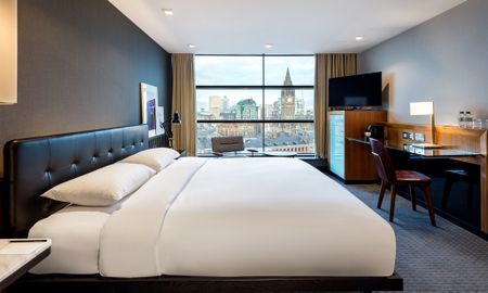 Collection Premium Room with City View - Offered £15.00 Daily Coupon - The Edwardian Manchester, A Radisson Collection Hotel - Manchester