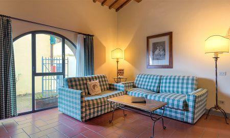 Apartamento - 1 Dormitorio - Relais Villa Olmo - Toscana