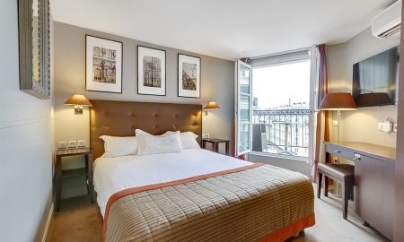 Camera Superiore con balcone - Hotel W O, Wilson Opera - Parigi