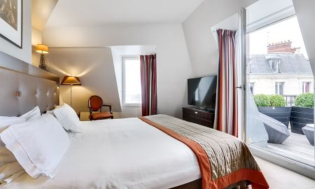 Habitación Deluxe - Hotel W O, Wilson Opera - Paris