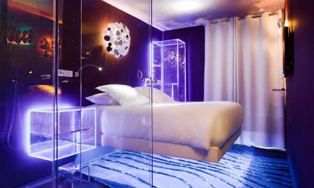 Camera Deluxe Designer - Hotel Seven - Parigi