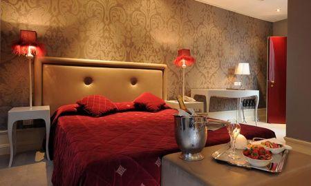 Quarto Deluxe - Hotel Ai Due Principi - Veneza