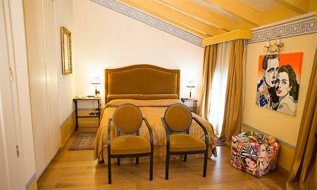 Quarto Superior - Hotel Palazzo Guiscardo - Toscana