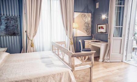 Quarto Prestige - Terraço - Hotel Palazzo Guiscardo - Toscana