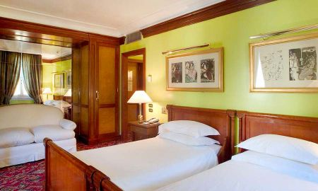 Chambre Deluxe Double - Hotel Albani Firenze - Toscane