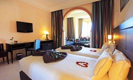 Suite Privilegio Triple (Todo Incluido, WIFI gratuito, Parking Gratuito) - Eden Andalou Suites, Aquapark & Spa - Marrakech