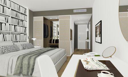 Quarto Clássico Duplo - Vista Parcial do Mar - Hotel Bellevue - Dubrovnik