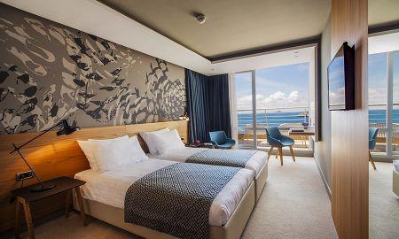 Chambre Supérieure Double avec Balcon - Vue Mer - Hotel Dubrovnik Palace - Dubrovnik