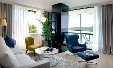 Suite Executiva com Sacada - Vista Mar - Hotel Excelsior Dubrovnik - Dubrovnik