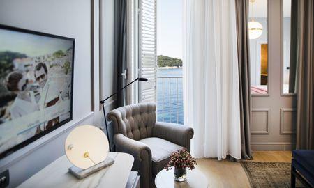 Номер делюкс с балконом и видом на море - Hotel Excelsior Dubrovnik - Dubrovnik