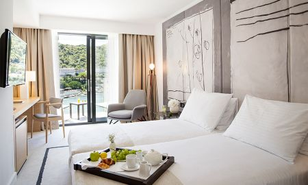 Superior Room with Sea View and Balcony - Hotel Kompas - Dubrovnik