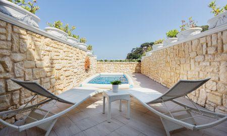 Suíte Dupla com Terraço e Piscina - VOI Grand Hotel Mazzaro Sea Palace - Sicília