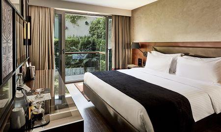 Quarto Deluxe - Vista jardim - Gezi Hotel Bosphorus - Istambul