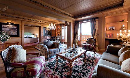 Suite Deluxe vista giardino - Hôtel Michlifen Resort & Golf - Ifrane