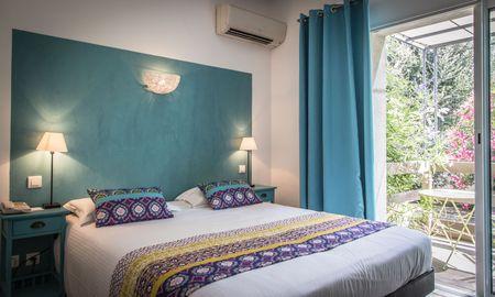 Quarto Comfort Terraço - Golfe Hôtel - Córseca