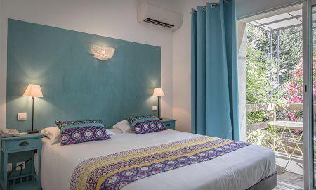 Quarto Conforto com terraço - Golfe Hôtel - Córseca
