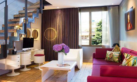 Duplex - Vista al Jardín - Hotel & Spa La Belle Juliette - Paris