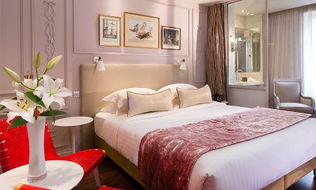 Chambre Romantique - Hotel & Spa La Belle Juliette - Paris