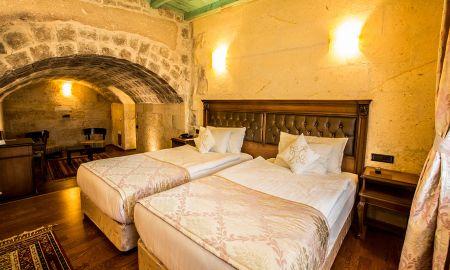 Quarto De Luxo - Cappadocia Cave Resort & SPA - Capadócia