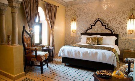 Quarto Deluxe - Hotel Temple Des Arts - Ouarzazate