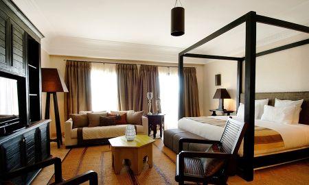 Chambre Deluxe Vue Mer Latérale - Riad Villa Blanche - Agadir