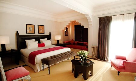 Junior Suite Executive - Loggia & Fireplace - Riad Villa Blanche - Agadir