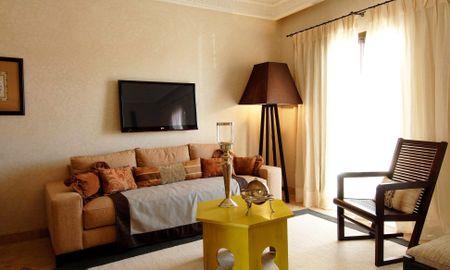 Suite Junior Exécutive - Loggia & Fireplace - Riad Villa Blanche - Agadir
