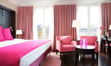 Quarto Superior TwinDuplo - Hotel Elysées Regencia - Paris