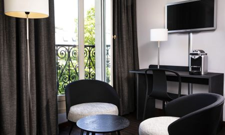 Chambre Deluxe Single - Hotel Elysées Regencia - Paris