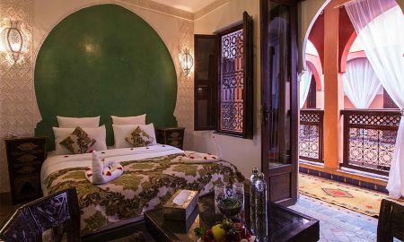 Стандартный двухместный номер (Бесплатный Wi-Fi, бесплатный завтрак) - Riad Alaka - Marrakech