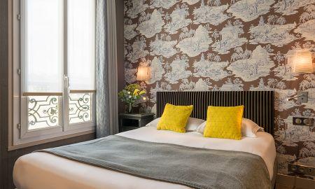 Chambre Prestige Double - Hôtel Louison - Paris