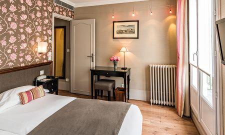 Chambre Standard Tradition Double - Hôtel Louison - Paris