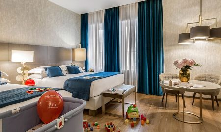 Family Quadruple Room - Starhotels Rosa Grand - Milan