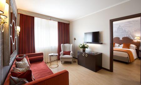 Suite - Starhotels Michelangelo Rome - Roma
