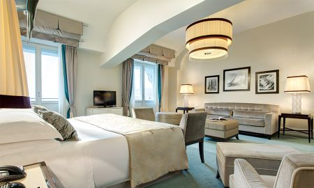 Junior Suite with Balcony - Sea view - Starhotels Savoia Excelsior Palace - Trieste