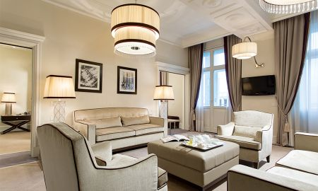 Presidential Suite with balcony - Sea View - Starhotels Savoia Excelsior Palace - Trieste
