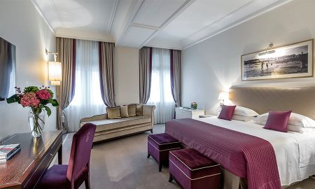 Chambre Deluxe Avec Balcon - Vue Mer - Starhotels Savoia Excelsior Palace - Trieste