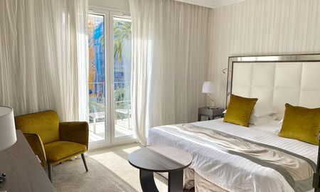Privilege Double Room with Terrace - Hôtel Le Canberra - Cannes