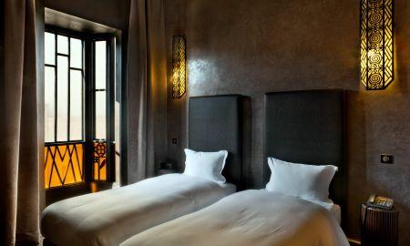 Chambre Supérieure Twin - Villa Makassar - Marrakech