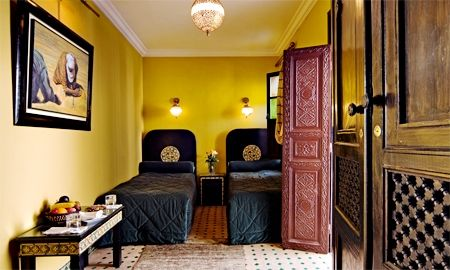 Quarto Twin Merzouga - Riad Ben Tachfine - Marraquexe