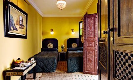 Chambre Twin Merzouga - Riad Ben Tachfine - Marrakech